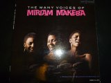 MIRIAM MAKEBA/THE MANY VOICES OF MIRIAM MAKEBA