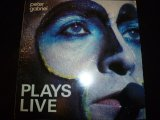 PETER GABRIEL/PLAYS LIVE