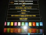 THREE SOUNDS/PLAY JAZZ ON BROADWAY