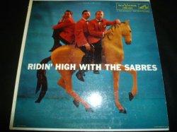 画像1: SARBES/RIDIN' HIGH WITH THE SABRES