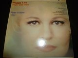PEGGY LEE/THEN WAS THEN AND NOW IS NOW !