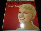 PEGGY LEE/I LIKE MEN !
