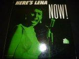 LENA HORNE/HERE'S LENA NOW !
