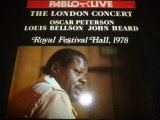 OSCAR PETERSON/THE LONDON CONCERT