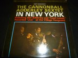 CANNONBALL ADDERLEY SEXTET/IN NEW YORK