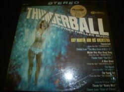 画像1: RAY MARTIN & HIS ORCHESTRA/THUNDERBALL AND OTHER THRILLER MUSIC