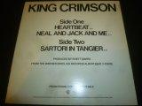 "KING CRIMSON/HEARTBEAT (12"")"