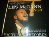 LES McCANN/SINGS