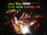 JOE TEX/LIVE AND LIVELY