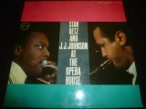 STAN GETZ & J.J. JOHNSON/AT THE OPERA HOUSE