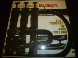 画像1: JACK SHELDON/A JAZZ PROFILE OF RAY CHARLES