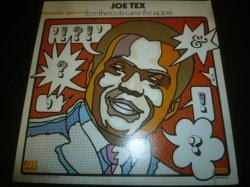 画像1: JOE TEX/FROM THE ROOTS CAME THE RAPPER