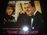 """JACK LEMMON/SINGS AND PLAYS FROM """"SOME LIKE IT HOT"""""""