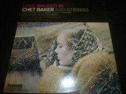 画像1: CHETBAKER & STRINGS/LOVE WALKED IN