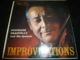 STEPHANE GRAPPELLY & HIS QUINTET/IMPROVISATIONS