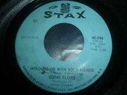 画像1: EDDIE FLOYD/HOLDING ON WITH BOTH HANDS