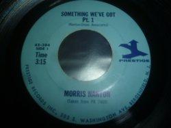 画像1: MORRIS NANTON/SOMETHING WE'VE GOT