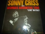 SONNY CRISS/LIVE IN ITALY