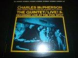 CHARLES McPHERSON/THE QUINTET-LIVE!